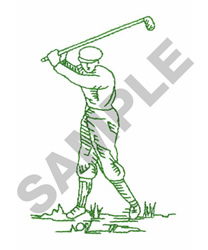 BACKSWING embroidery design