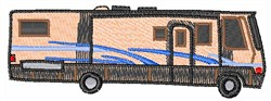 RV MOTORHOME embroidery design