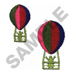 BALLOONISTS embroidery design