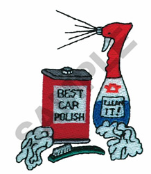 CARWASH SUPPLIES embroidery design