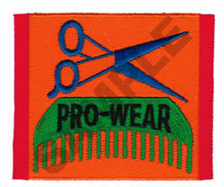 PRO WEAR embroidery design