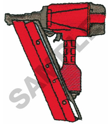 ROOFING NAILER embroidery design
