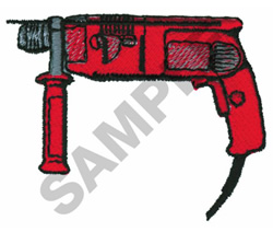 ROTARY HAMMER embroidery design