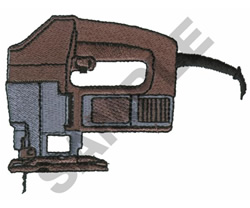 JIG SAW embroidery design