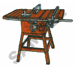 TABLE SAW embroidery design
