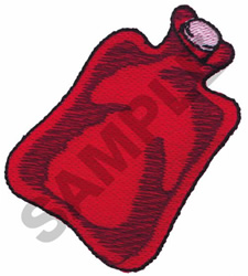 WATER BOTTLE embroidery design