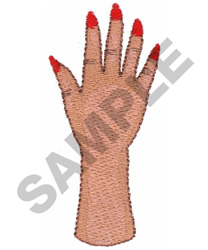 NAIL MANNEQUIN embroidery design
