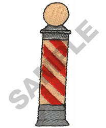 BARBER POLE embroidery design