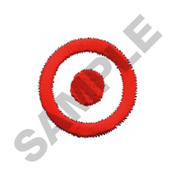 TARGET embroidery design