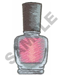 NAIL POLISH embroidery design