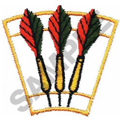 DARTS embroidery design