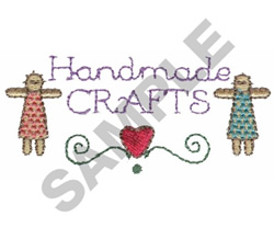 HANDMADE CRAFTS embroidery design