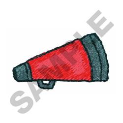 MEGAPHONE embroidery design