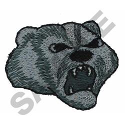 BADGER embroidery design