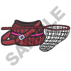 CREEL AND NET embroidery design