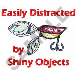 SHINY OBJECTS embroidery design