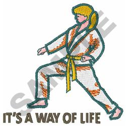 WAY OF LIFE embroidery design