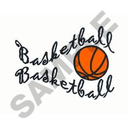 BASKETBALL WAVE embroidery design
