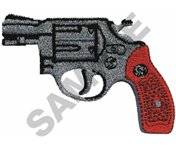 SMITH & WESSON MODEL 12 embroidery design