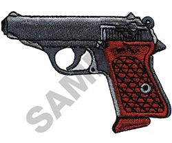 WALTHER P.P.K. AUTO embroidery design