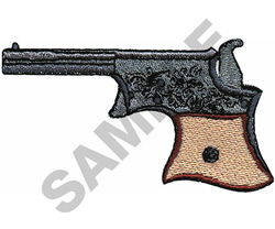 .22 VEST POCKET DERRINGER embroidery design