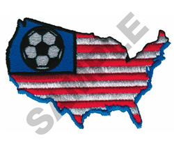 US WITH SOCCER BALL embroidery design