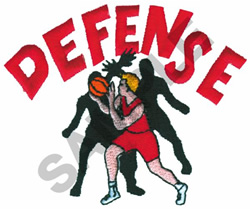 DEFENSE embroidery design