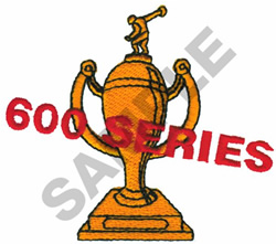 600 SERIES TROPHY embroidery design