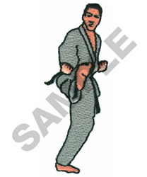 MARTIAL ARTS embroidery design
