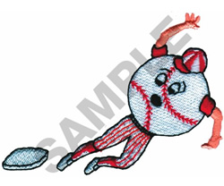 BASEBALL embroidery design