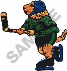 HOCKEY DOG embroidery design