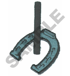 HORSESHOES embroidery design