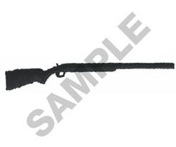 TRAP GUN embroidery design