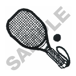 RACQUETBALL embroidery design