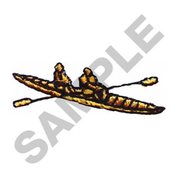 SCULLER CREW embroidery design