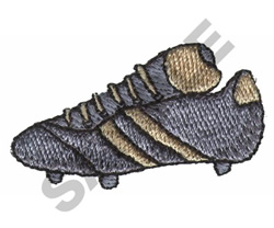 SOCCER SHOE embroidery design