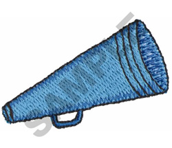 MEGAPHONE embroidery design