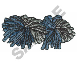 POM PONS embroidery design