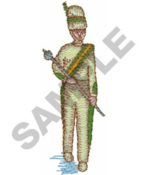 DRUM MAJOR embroidery design