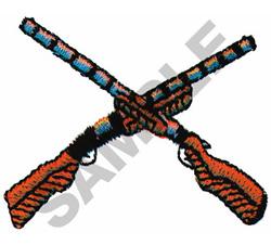 SHOTGUNS embroidery design