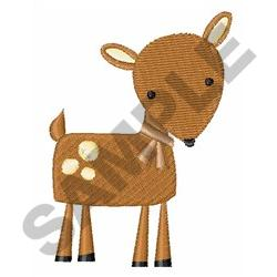 FAWN DEER embroidery design