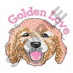 GOLDEN LOVE embroidery design