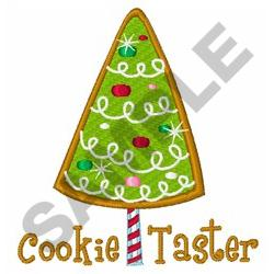 COOKIE TASTER embroidery design