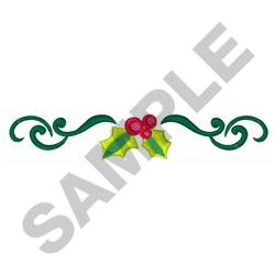 HOLIDAY BORDER embroidery design