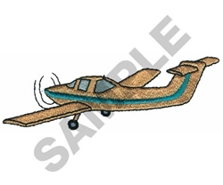 PIPER TOMAHAWK AIRPLANE embroidery design