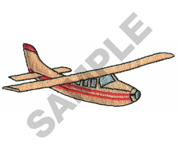 CESSNA 210 AIRPLANE embroidery design