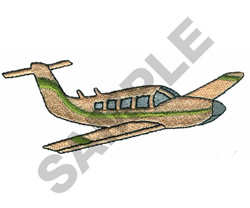 PIPER LANCER AIRPLANE embroidery design