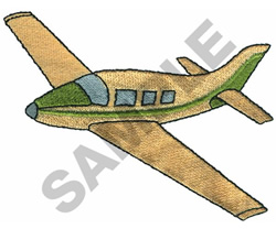 BELLANCA SUPER VIKING AIRPLANE embroidery design