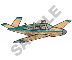 BEECH BONANZA AIRPLANE embroidery design