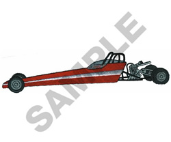 JUNIOR DRAGSTER embroidery design